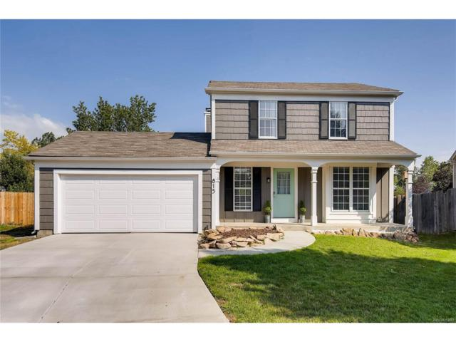 815 Kimbark Street, Lafayette, CO 80026 (MLS #3002943) :: 8z Real Estate