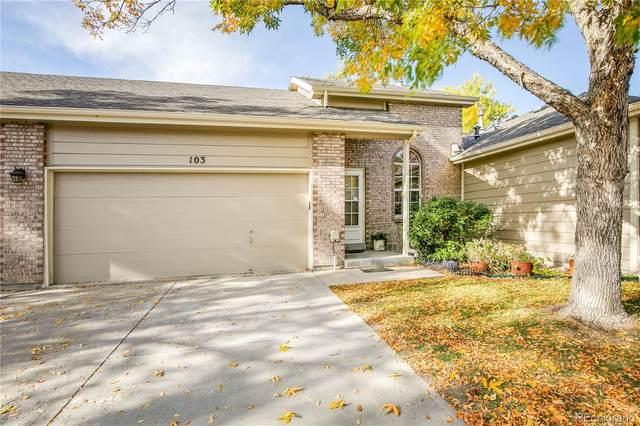 1470 S Quebec Way #103, Denver, CO 80231 (#3003765) :: Venterra Real Estate LLC