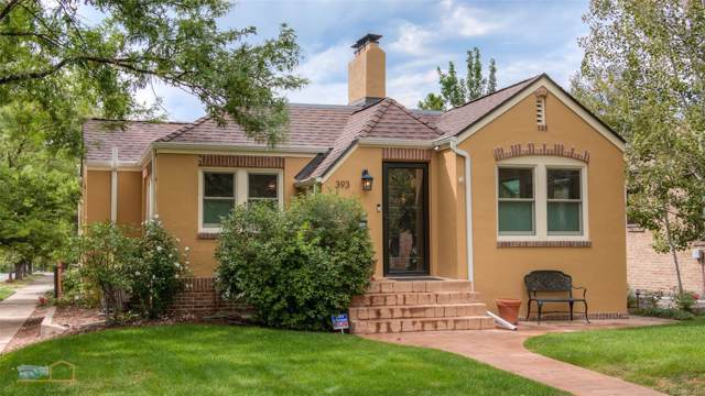 393 S High Street, Denver, CO 80209 (MLS #3007211) :: Keller Williams Realty