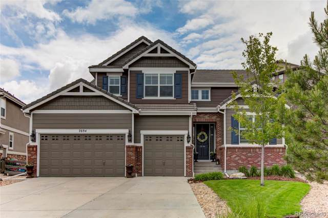 7694 S Eaton Park Court, Aurora, CO 80016 (#3008396) :: The Peak Properties Group