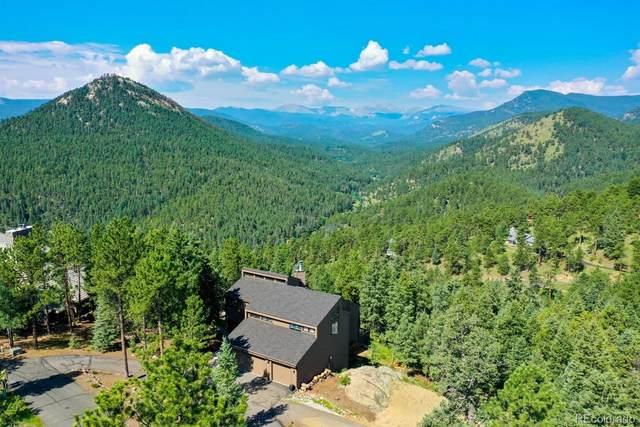 3913 Mountainside Trail, Evergreen, CO 80439 (#3009369) :: The Colorado Foothills Team | Berkshire Hathaway Elevated Living Real Estate