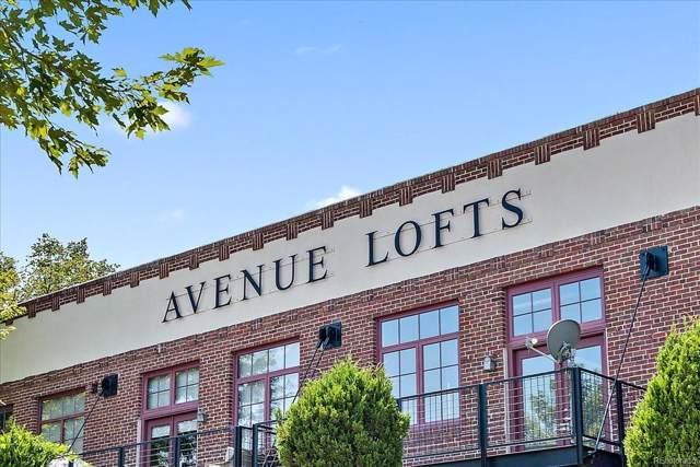 1000 E 18th Avenue #208, Denver, CO 80218 (#3010167) :: Arnie Stein Team | RE/MAX Masters Millennium