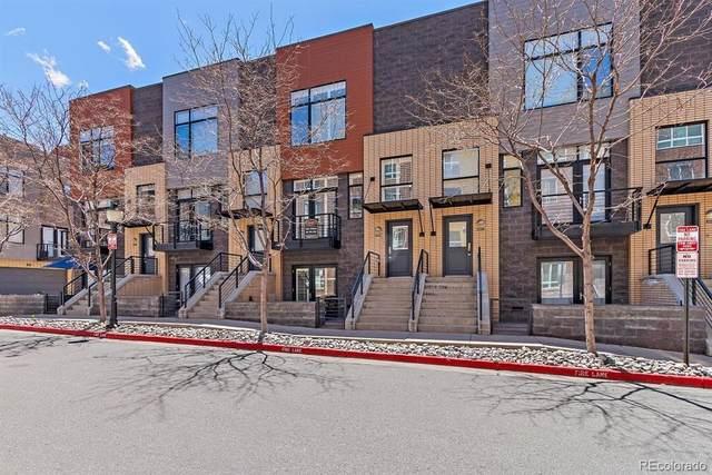 1416 Little Raven Street D, Denver, CO 80202 (#3012929) :: Briggs American Properties