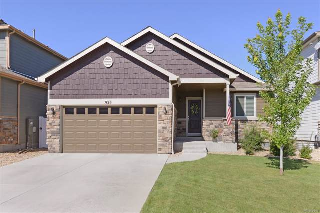 929 Lepus Drive, Loveland, CO 80537 (MLS #3013350) :: Keller Williams Realty