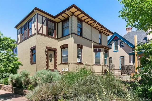 1035 E 11th Avenue, Denver, CO 80218 (MLS #3015580) :: Wheelhouse Realty