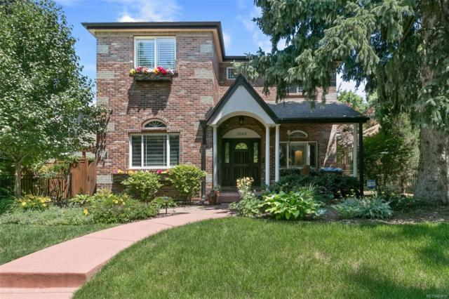 1040 S York Street, Denver, CO 80209 (#3017733) :: The HomeSmiths Team - Keller Williams