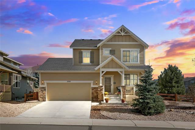 2782 Dragonfly Court, Castle Rock, CO 80109 (#3021034) :: The HomeSmiths Team - Keller Williams