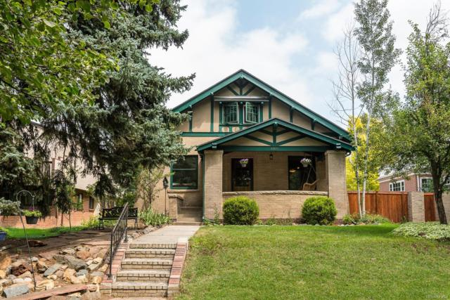 4325 E 17th Avenue Parkway, Denver, CO 80220 (#3024375) :: The Pete Cook Home Group