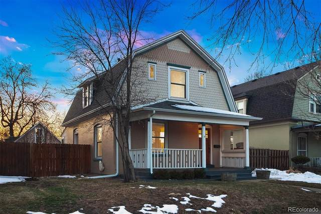 411 N Corona Street, Denver, CO 80218 (#3025478) :: Finch & Gable Real Estate Co.