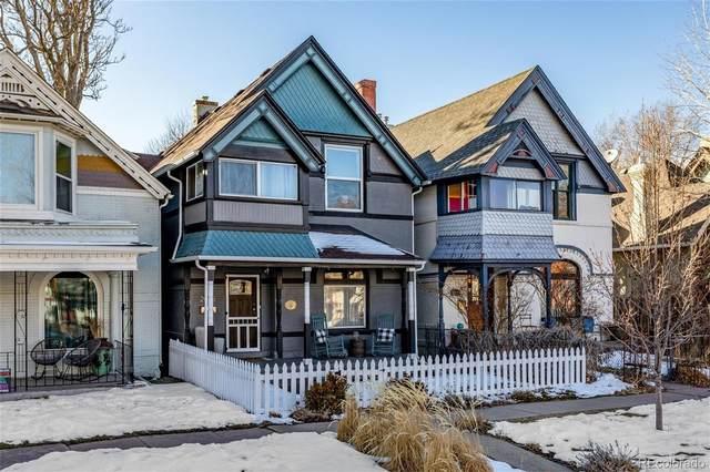 2015 N Ogden Street, Denver, CO 80205 (#3030385) :: Wisdom Real Estate