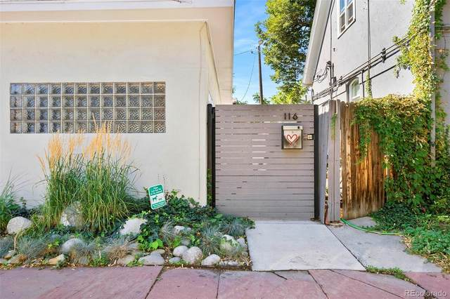 116 E Ellsworth Avenue, Denver, CO 80209 (MLS #3032529) :: Bliss Realty Group