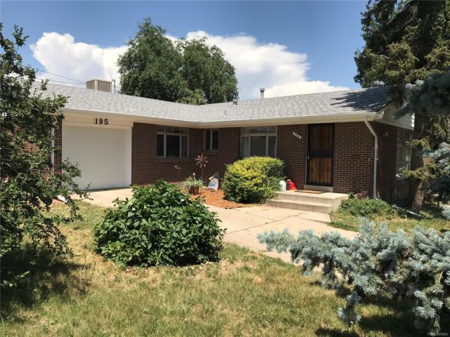 195 Kohl Street, Broomfield, CO 80020 (MLS #3032701) :: 8z Real Estate