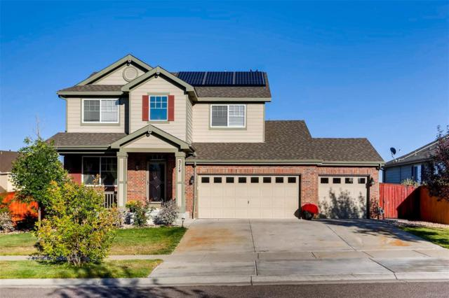5114 S Flatrock Street, Aurora, CO 80016 (MLS #3035678) :: Kittle Real Estate