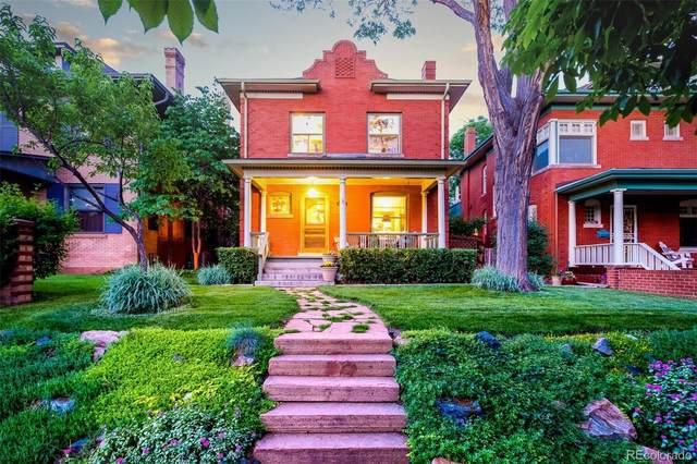 954 N Marion Street, Denver, CO 80218 (#3035834) :: The HomeSmiths Team - Keller Williams
