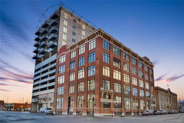 2000 Arapahoe Street #101, Denver, CO 80205 (MLS #3037300) :: Colorado Real Estate : The Space Agency