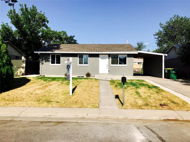 6960 Jasmine Street, Commerce City, CO 80022 (MLS #3037423) :: 8z Real Estate