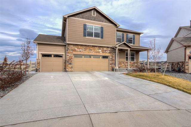 5841 Echo Park Circle, Castle Rock, CO 80104 (#3038433) :: The HomeSmiths Team - Keller Williams