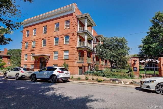 1376 N Pearl Street B1, Denver, CO 80203 (#3039197) :: The Colorado Foothills Team | Berkshire Hathaway Elevated Living Real Estate