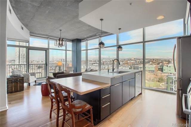 1700 Bassett Street #1006, Denver, CO 80202 (#3044511) :: The Healey Group