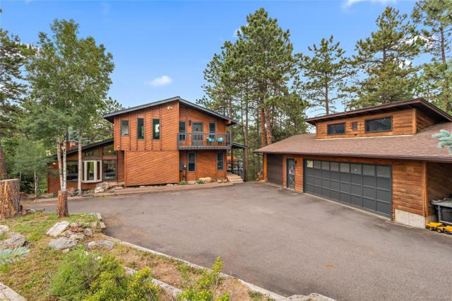 8303 Gray Fox Drive, Evergreen, CO 80439 (MLS #3046017) :: 8z Real Estate