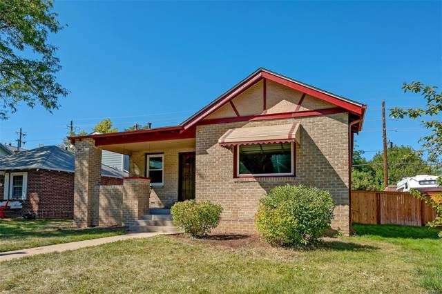 933 Harrison Street, Denver, CO 80206 (MLS #3053525) :: 8z Real Estate