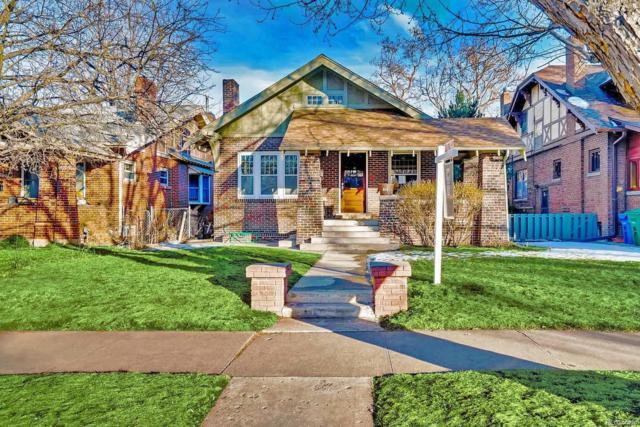 910 Steele Street, Denver, CO 80206 (#3054046) :: The Galo Garrido Group