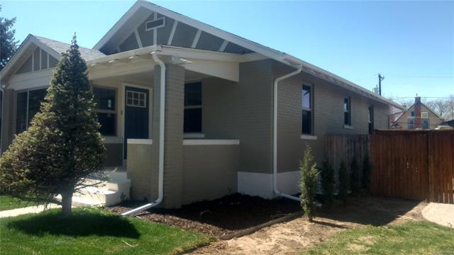 1653 S Ogden Street, Denver, CO 80210 (#3054208) :: The Peak Properties Group