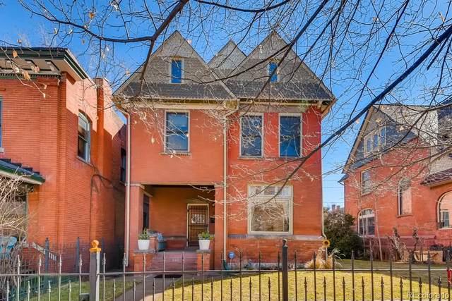 1660 Vine Street, Denver, CO 80206 (#3055036) :: The Dixon Group