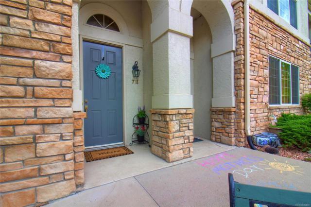 5350 S Jay Circle 7H, Denver, CO 80123 (#3059236) :: Wisdom Real Estate