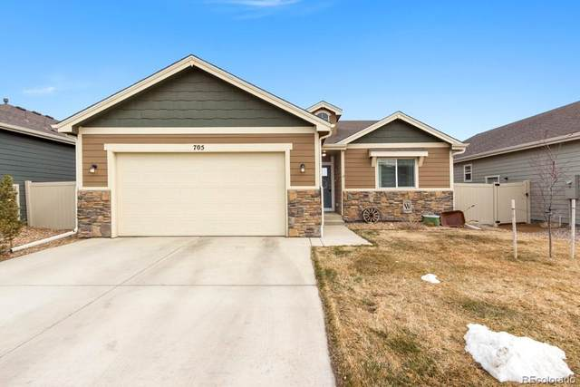 705 N Country Trail, Ault, CO 80610 (MLS #3061159) :: Wheelhouse Realty