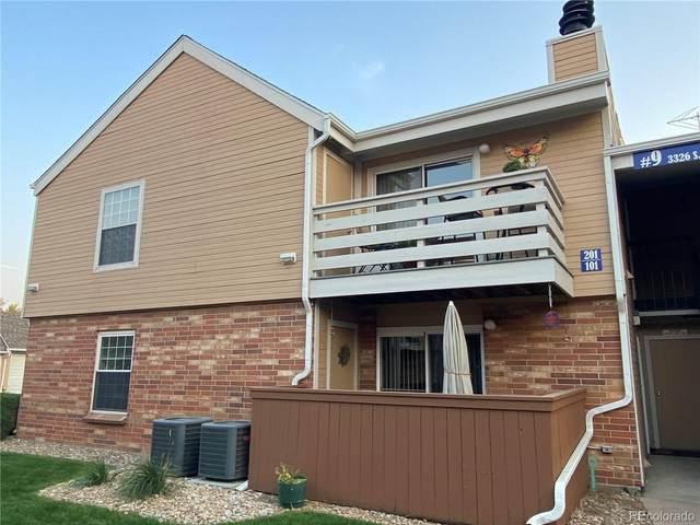 3326 S Ammons Street #201, Lakewood, CO 80227 (#3063707) :: The Scott Futa Home Team