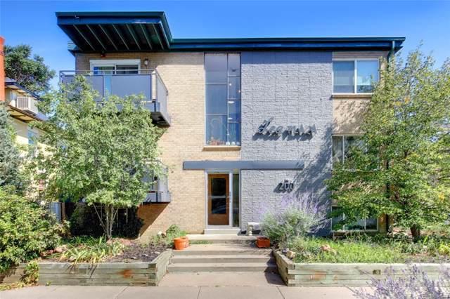 200 N Sherman Street #10, Denver, CO 80203 (MLS #3063925) :: Colorado Real Estate : The Space Agency