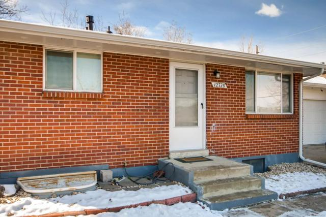 12778 W 31st Avenue, Wheat Ridge, CO 80215 (#3067233) :: The Peak Properties Group