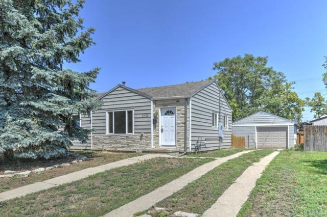 1851 W Chaffee Place, Denver, CO 80211 (#3067305) :: My Home Team