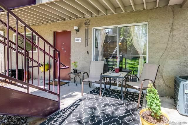 5300 E Cherry Creek Drive S #1015, Denver, CO 80246 (#3067325) :: The Griffith Home Team