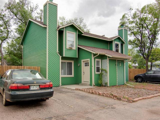 2632 E Dale Street A, Colorado Springs, CO 80909 (MLS #3067912) :: 8z Real Estate