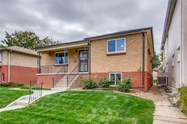 5030 W 36th Avenue, Denver, CO 80212 (#3067968) :: The Galo Garrido Group