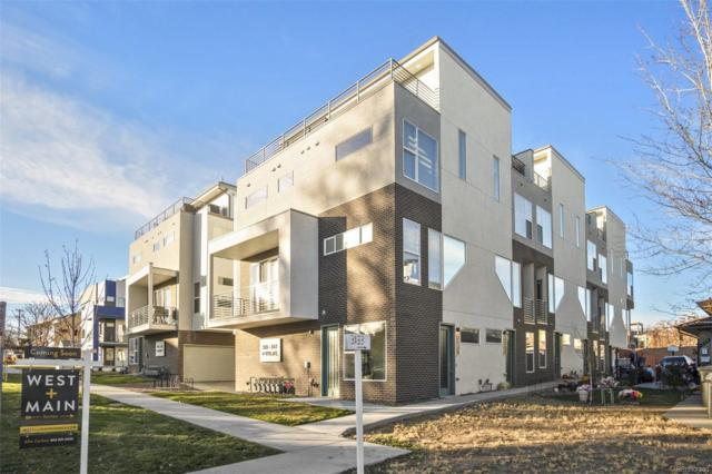 3141 W 19th Avenue, Denver, CO 80204 (#3068101) :: The Peak Properties Group