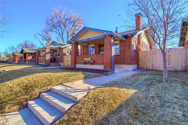 2330 S Lincoln Street, Denver, CO 80210 (#3069015) :: The Pete Cook Home Group