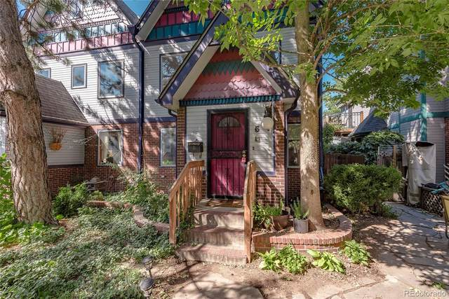 150 W Byers Place #5, Denver, CO 80223 (#3070450) :: The Griffith Home Team