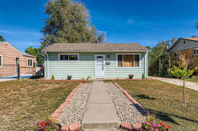1260 S Knox Court, Denver, CO 80219 (#3070709) :: The DeGrood Team