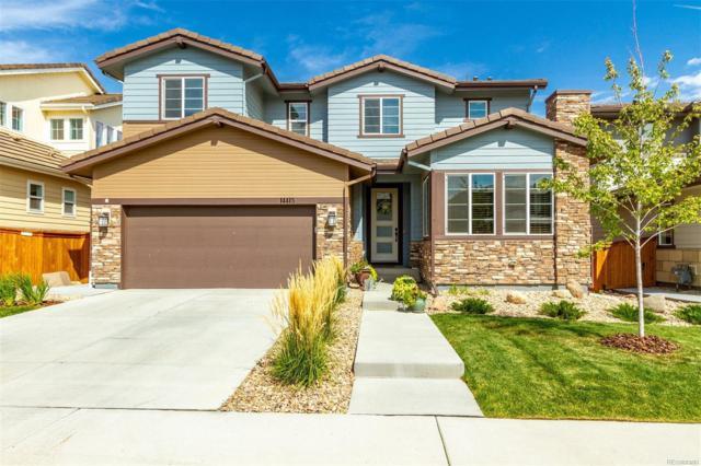 14415 Big Stone Drive, Parker, CO 80134 (#3072028) :: The Peak Properties Group