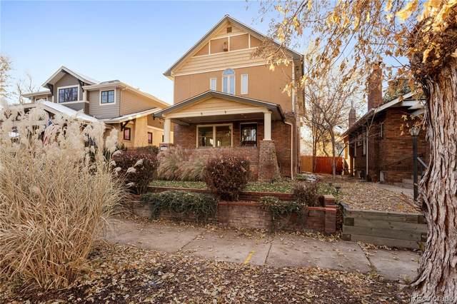 849 Garfield Street, Denver, CO 80206 (MLS #3074625) :: The Sam Biller Home Team