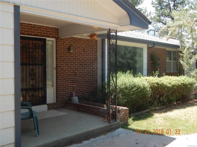 11352 Ponderosa Lane, Franktown, CO 80116 (#3077667) :: Colorado Home Realty