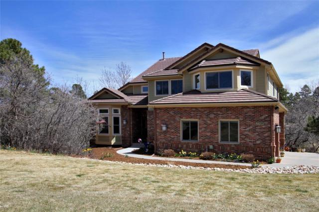 7739 Prairie Lake Trail, Parker, CO 80134 (#3083284) :: The Peak Properties Group