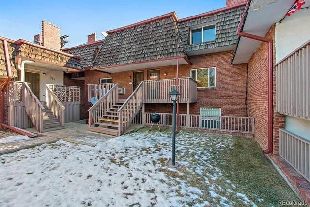 5491 E Warren Avenue #224, Denver, CO 80222 (MLS #3083831) :: 8z Real Estate