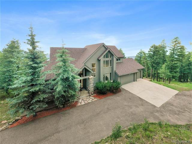 4937 Bear Mountain Drive, Evergreen, CO 80439 (MLS #3088580) :: Clare Day with Keller Williams Advantage Realty LLC