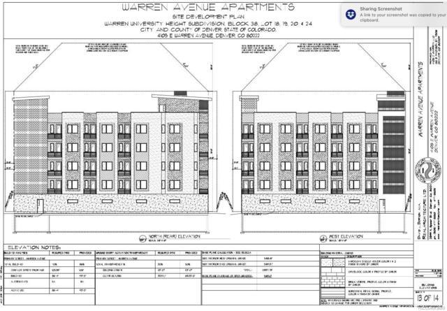4105 E Warren Avenue, Denver, CO 80222 (MLS #3089828) :: 8z Real Estate