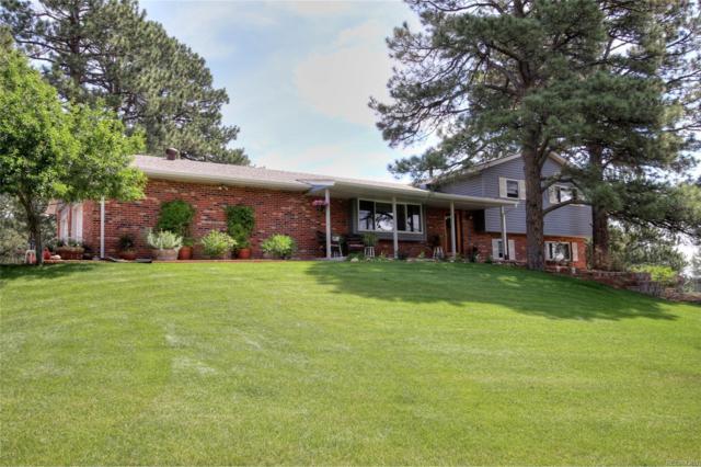 3480 Ponderosa Road, Franktown, CO 80116 (#3091849) :: Colorado Home Realty