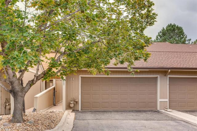 6507 Pinewood Drive #31, Parker, CO 80134 (#3094533) :: The Peak Properties Group